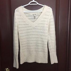 Lucky Brand Sweater White Womens Medium